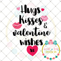 Valentines Wishes SVG DXF PNG