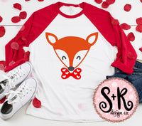 Valentines Day Fox SVG DXF PNG (2019)