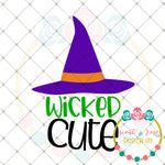 Wicked Cute SVG DXF PNG