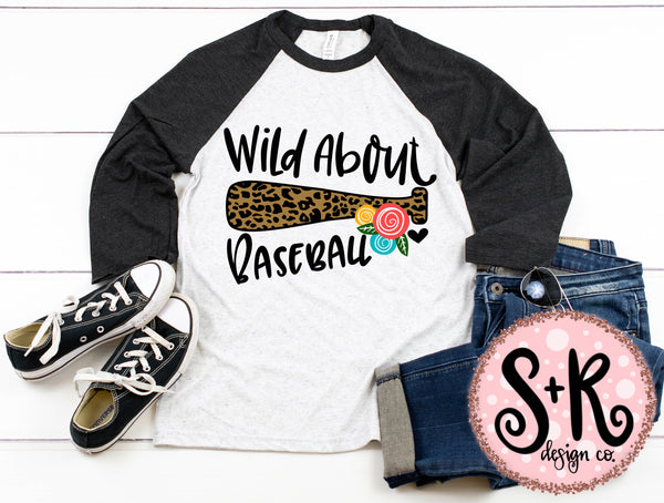 Wild About Baseball SVG DXF PNG (2019)