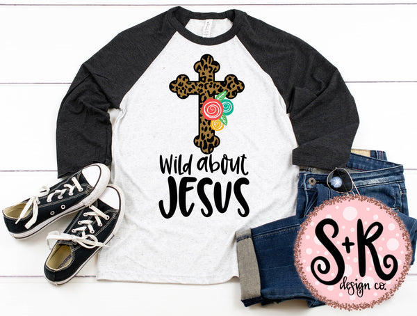 Wild About Jesus SVG DXF PNG (2019)