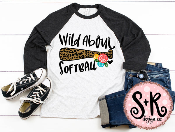 Wild About Softball SVG DXF PNG (2019)
