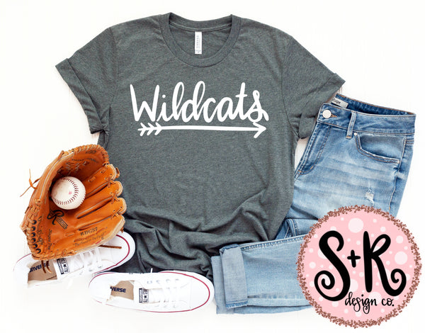 Wildcats SVG DXF PNG (2019)
