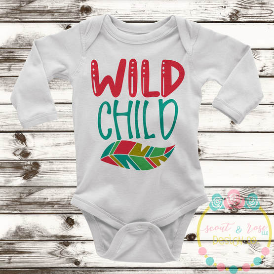 Wild Child SVG DXF PNG