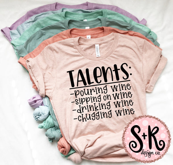 Wine Talents SVG DXF PNG (2019)