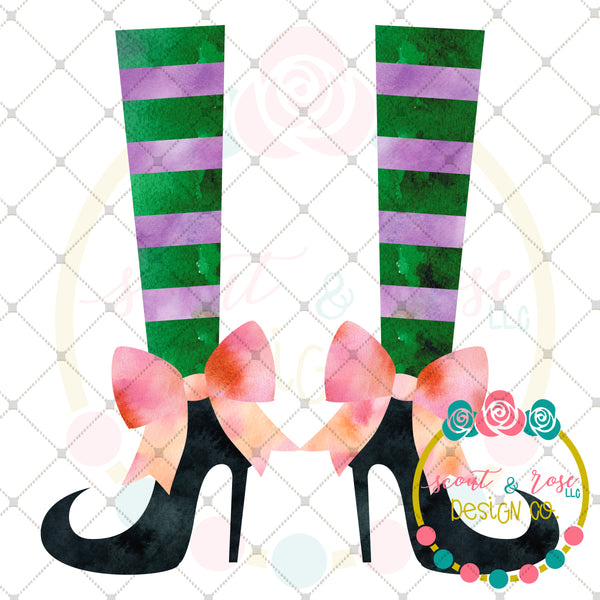 Witch Legs Printable Design