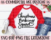 Christmas Baking Squad SVG DXF PNG (2020)