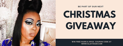 Klaiyi Hair: Christmas Giveaway