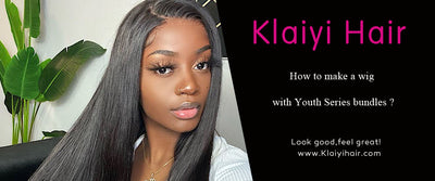 How to make a wig with Youth Series bundles ?