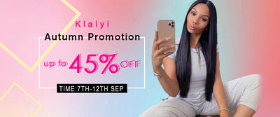 Klaiyi Autumn Promotion
