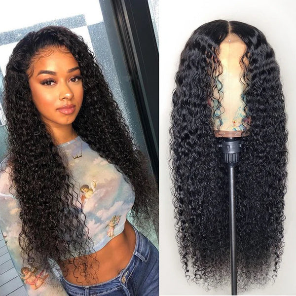 360 Lace Front Jerry Curly Human Hair Wig