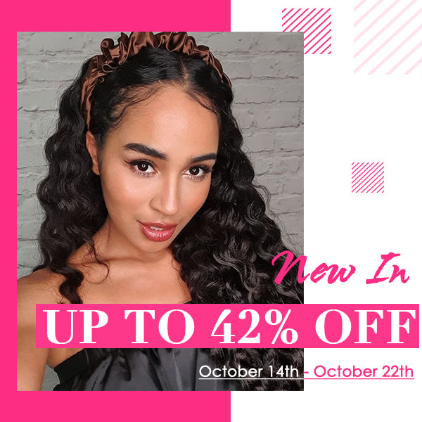 42% discount on New arrival wigs