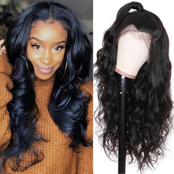 9A Body Wave Lace Front Wig with baby hair