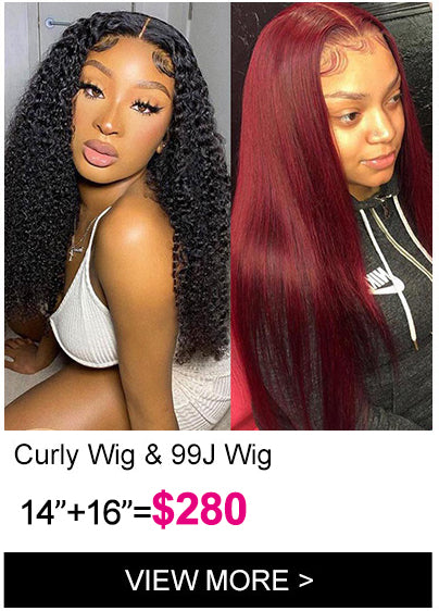 Klaiyi Brand Day flash sale full curly t part lace wig dark 99j 13 4 hd lace front wig