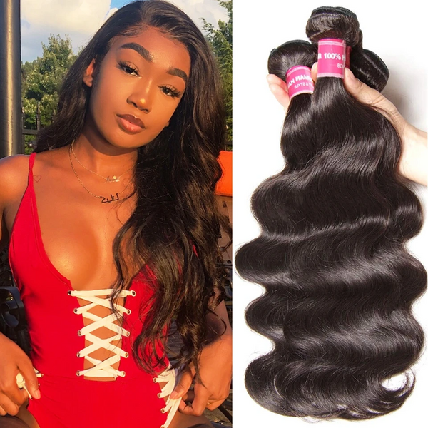 Brazilian Hair Body Wave Human Virgin Hair Weft