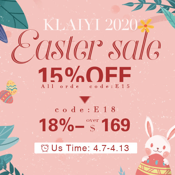 Klaiyi Easter Sale
