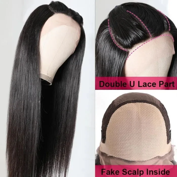 Three Part Lace Part Wig