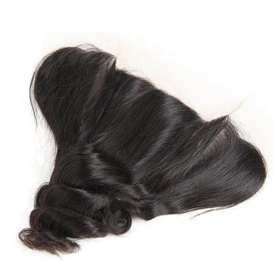 13*4 Lace Frontal Loose Wave Closure-Klaiyi Hair