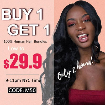 Flash Sale: Buy 1 Get 1 Free , Add Any 2 Bundles In Your Cart, Use Code: M50, Only 1 Bundle Will Be Charged