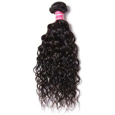 1 Bundles Water Wave Human Hair Weave Bundles Deals-Klaiyi Hair