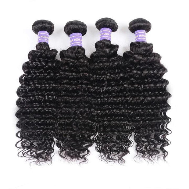 Black Color Human Hair 4 Bundles Flash Sale Low To $58.99, Limited Stock!