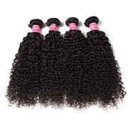 4 Bundles Peruvian Virgin Curly  Hair Weave Human Hair Bundle Deals-Klaiyi hair