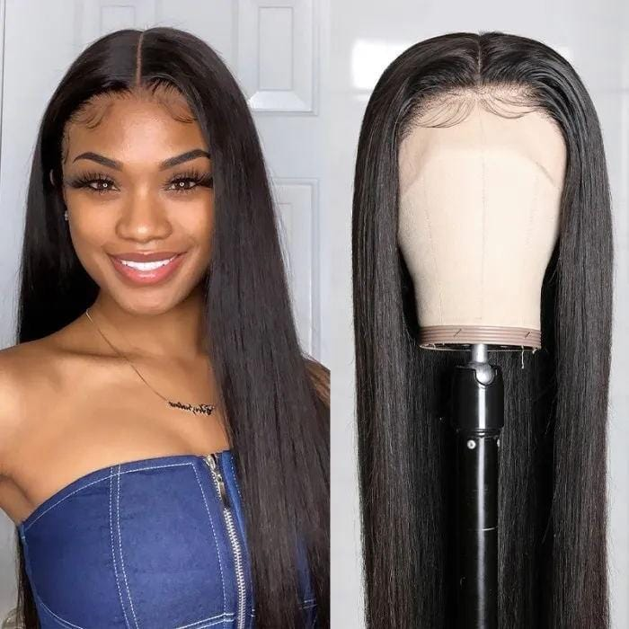 Flash Sale For  13*4 Lace Front Wigs Straight Human Hair Wigs 150% Density Low to $99