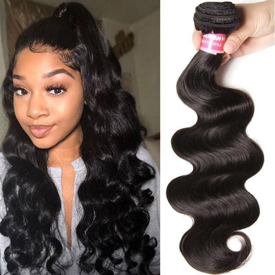 Klaiyi Hair Virgin Body Wave Human Hair Weave 1 Bundles Deals