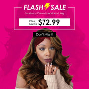Flash Sale: #1B/30 Balayage Blonde Body Wave Headband Wigs, Price Low To $72.99