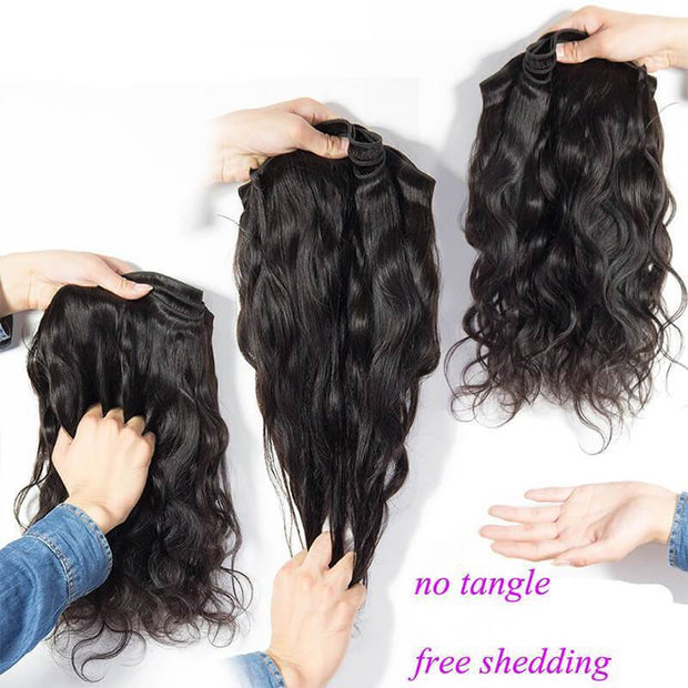 Klaiyi 8A  4pieces/pack Malaysian Body Wave Virgin Human Hair Bundles