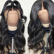 Klaiyi 9A Body Wave Lace Front Wigs Human Hair Wigs With Baby Hair, 10-26inch
