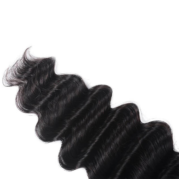 1 Bundles Loose Deep Wave Human Hair Weaves On Sale
