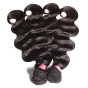 Klaiyi Hair 3 Bundles Peruvian Body Wave Virgin Hair, 100% Unprocessed Human Hair Extension Deals