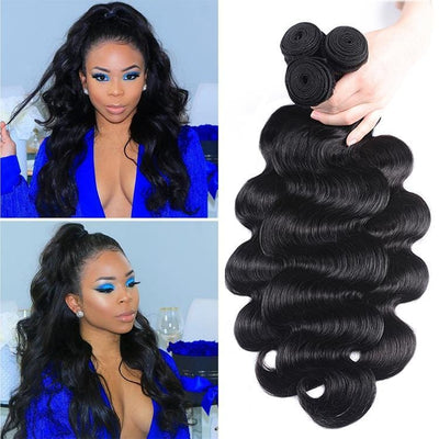 Klaiyi Youth Series Brazilian Body Wave Human Hair Bundles 4pcs/pack