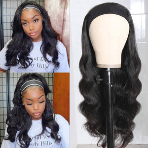 Klaiyi Youth Series Headband Body Wave Wig Wear And Go Human Hair Wigs