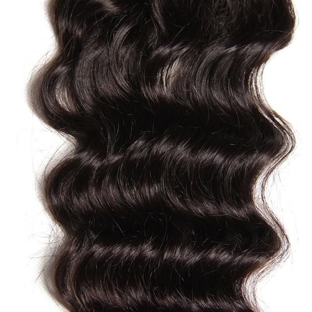 4*4 Natural Wave Lace Closure 1 Piece