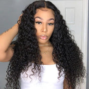 Klaiyi 4 pieces/pack Malaysian Curly Virgin Human Hair Bundles