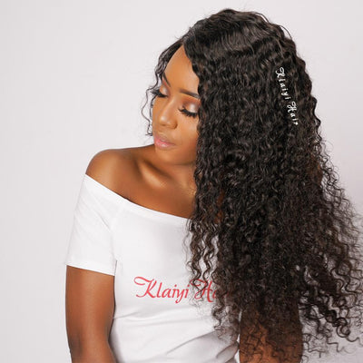 Brazilian Deep Wave 3pieces/pack, Unprocessed Human Virgin Hair  Natural Color