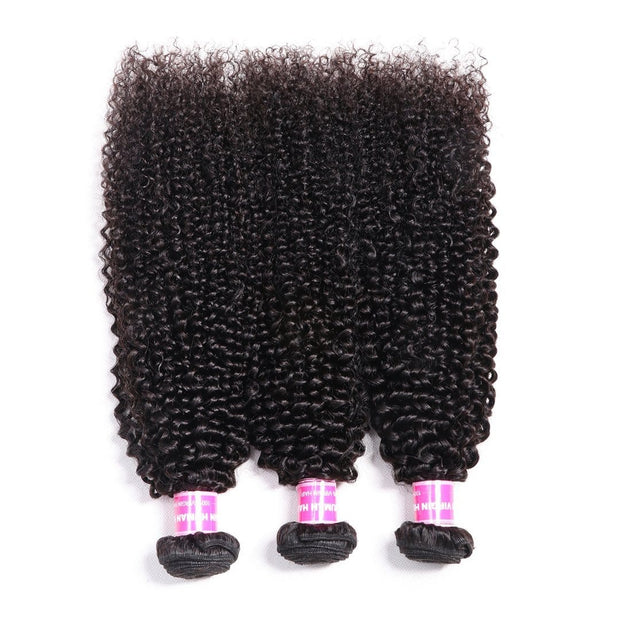 3pcs/Lot Virgin Indian Kinky Curly Hair Weaves, 8A Grade, Free Shipping