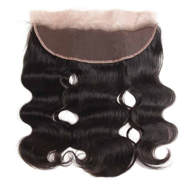 body wave 13*6 lace frontal closure