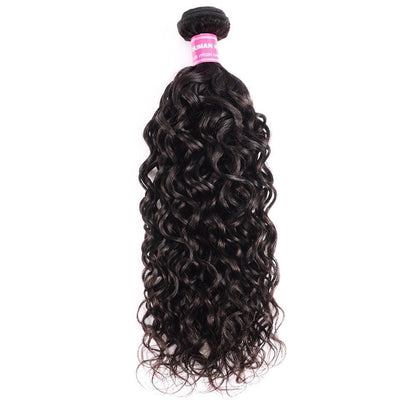 Klaiyi Hair 8A Brazilian Loose Water Wave One Bundle Virgin Human Hair Weave