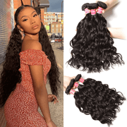 Klaiyi 3 Pcs/pack Natural Wave Virgin Human Hair Bundles For Sale, Supper Affordable Hair Weave Free Shipping