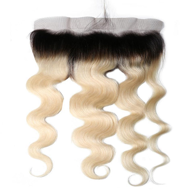 1B/613 T color 13*4 Body Wave Lace Frontal Closure on Deals
