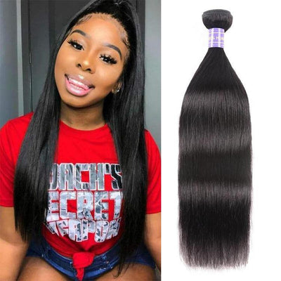 Klaiyi Youth Series Brazilian Straight Hair 1 Bundle Deal 100% Human Hair