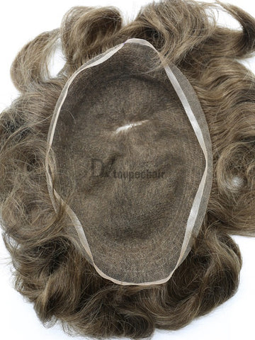 Men's Hairpiece In Stock: All Delicate French Lace