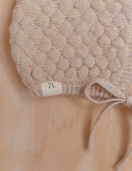 HEIRLOOM BONNET | CARAMEL FLECK