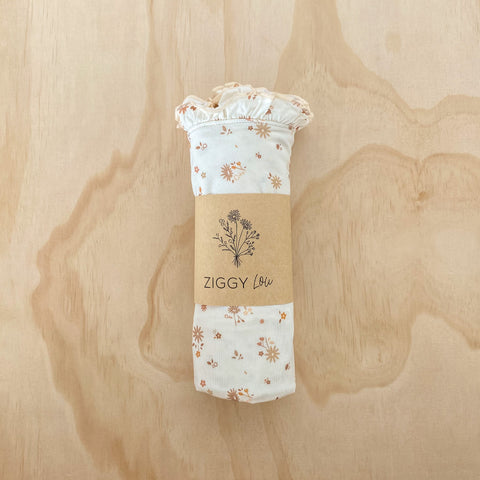 FLORA BAMBOO STRETCH SWADDLE