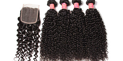 Customers' Sharing of Curly Hair