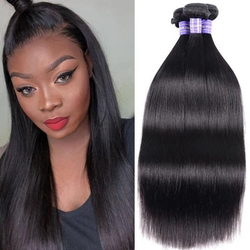 straight remy human hair