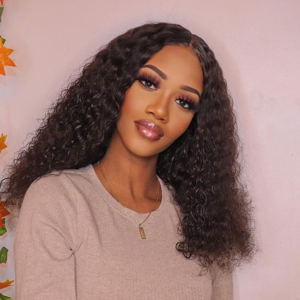 jerry curly lace part wig